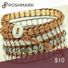 Swarovski Crystal Elements Bracelet Labor Day Special  Offering 10 at Half of our everyday price is $20 34 Inches on Leather Wrapped Swarovski Crystal Beaded Bracelet.  HIGHEST Quality.  Originally sold for $175. Can Wear as a Wrap Bracelet,  Belt or Boot decoration.  #lavitabella  #Swarovskicrystalbracelet  #dovajean La Vita Bella  Jewelry Bracelets