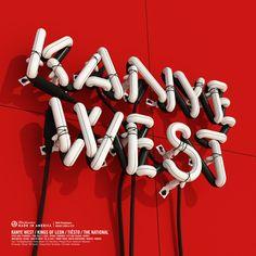 JAY-Z's BMIA Festival / Kanye West / 3d Typography - Rizon Parein
