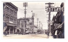 BC – VICTORIA, Government St. Looking North at Yates, Lyall c.1910-1918 RPPC