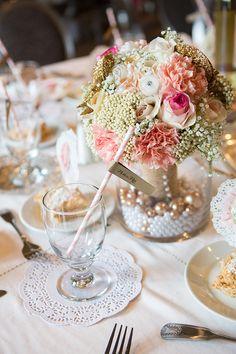 The Chic Technique: Gatsby bridal shower ideas. Pearl Bridal Shower, Bridal Shower Tables, Bridal Shower Favors, Party Decoration, Bridal Shower Decorations, Wedding Decorations, Wedding Ideas, Wedding Images, Wedding Centerpieces
