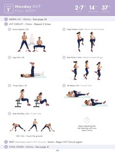 HIIT Full Body Workout | Posted By: CustomWeightLossProgram.com