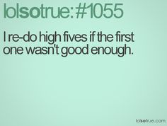 I totally do this! My students are starting to think that I'm some sort of high five perfectionist - haha!