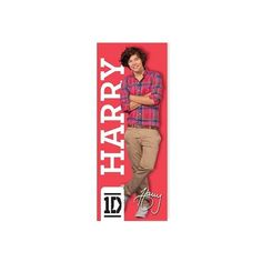 One Direction Harry Life-size Poster ($18) ❤ liked on Polyvore