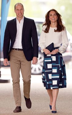 Prince William, Duke of Cambridge and Catherine, Duchess of Cambridge attend the launch of the Heads Together campaign to eliminate stigma on mental health at the Queen Elizabeth Olympic Park on May 16, 2016 in London, England.