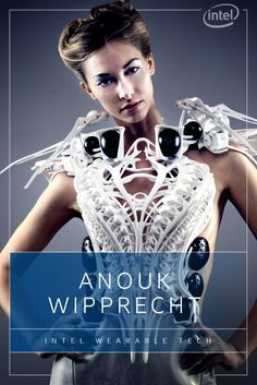 Thanks to Intel Edison and Curie, innovative designers like Anouk Wipprecht are pushing the limits of wearable fashion with smart garments that combine tech brains and runway style like never before. And if her biometric Spider Dress doesn't wow Fashion Week, her Smoke Dress will surely leave everyone in a daze. http://intel.ly/1TpeyFl
