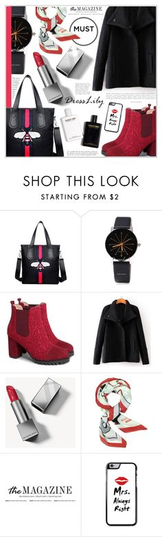 """""""Dresslily"""" by becky12 ❤ liked on Polyvore featuring Burberry and Moschino"""