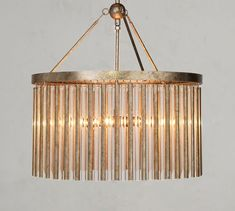 Chandeliers | Pottery Barn Rectangle Chandelier, Glass Chandelier, Chandelier Lighting, Chandeliers, Candle Cups, Wall Candle Holders, Mirror Art, Diffused Light, Antique Metal
