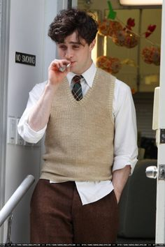 """Dan Radcliffe in Killing Your Darlings  """"Burning Furiously Beautiful: The True Story of Jack Kerouac's 'On the Road,'"""" the book I'm coauthoring with Paul Maher Jr., tells the story behind the film """"Kill Your Darlings."""" #BFB"""