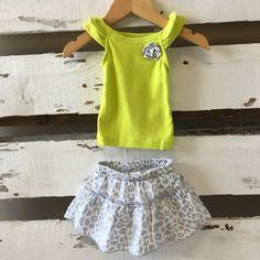 Carter's Shirt & Skirt Outfit