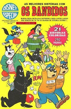 Disney Especial - 001 : Os Bandidos