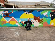 'The Happy Place' Mural Workshop - Carla McRae