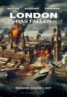 London Has Fallen (2015) - International (Malaysia) Poster sequel to Olympus Has Fallen