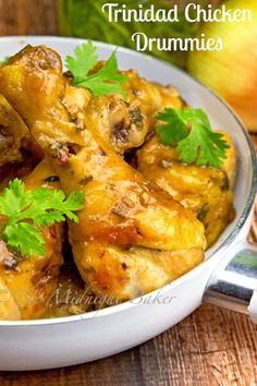 These earthy and slightly sweet Trinidad chicken drummiesare sure to be a hit!