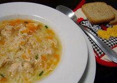 Canja Portuguese Chicken Soup.                                                                                                                                                     More