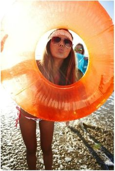 Cute photo idea for the beach but with a bunch of these floatie things and all of us doing different poses with them! So cute! Summer Vibes, Summer Sun, Summer Of Love, Summer Beach, Spring Summer, Summer Days, Happy Summer, Hello Summer, Happy Fun