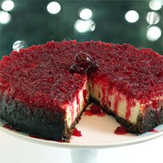 Cranberry Cheesecake. Maybe for thanksgiving
