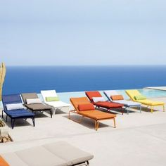 Toboo Outdoor Chaise Lounge #ChaiseLounges #OutdoorFurniture #CozyDays