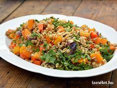Sütőtökös gersli - Receptek | Ízes Élet - Gasztronómia a mindennapokra Fried Rice, Quinoa, Cantaloupe, Grains, Paleo, Food And Drink, Fruit, Ethnic Recipes, Bulgur