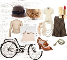"""""""The Tweed Ride"""" by thecovetedcloset on Polyvore"""