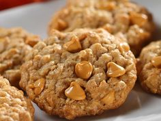 The two ingredients which make these extraordinary cookies special are the combination of oats and butterscotch chips. These Oatmeal Scotchies will disappear from your cookie jar in no time.
