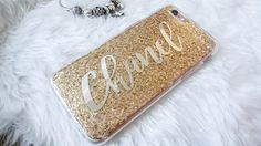 christmas gift,personalized gold tinsel iphone 7 case, handmade glitter iphone 6 case, iphone 7 case,iphone 7 plus case, iphone 6 plus case by Glamourmama on Etsy https://www.etsy.com/listing/494120525/christmas-giftpersonalized-gold-tinsel