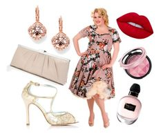 """""""Amazing 50's!"""" by wardrobeshop ❤ liked on Polyvore featuring Alexander McQueen and Lime Crime"""