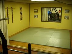Build a Home Dojo so I can practice and teach Women's Self-Defense