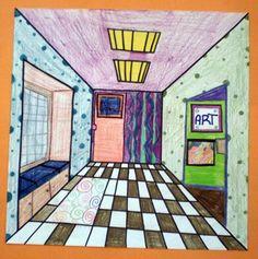 Fun 5th grade perspective project