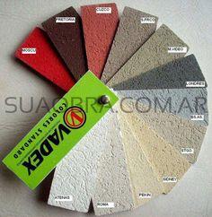 Tarquini colores . Catálogo de colores  Tarquini para revestimiento plástico exteriores Raya2   SUAOBRA.COM.AR Comercialización y  Aplicac...