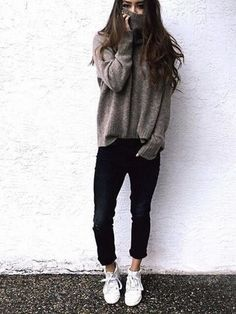 ☾ ωe αll нαve secяeтs // J a z ♔ ☽. - Total Street Style Looks And Fashion Outfit Ideas Lazy Day Outfits, Mode Outfits, Winter Outfits, Summer Outfits, Casual Outfits, Fashion Outfits, Fashion Trends, Casual Wear, Winter Clothes
