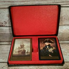 Shop for pokemon on Etsy, the place to express your creativity through the buying and selling of handmade and vintage goods. Cool Toys, Awesome Toys, Cool Stuff For Sale, Vintage Playing Cards, Double Deck, Her Majesty The Queen, Maritime Museum, Ebay Listing, Appointments