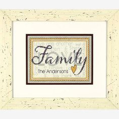 Dimensions® Family Counted Cross-Stitch Kit $9.39