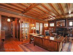Arts and Crafts Craftsman Living Rooms, Craftsman Cottage, Craftsman Interior, Craftsman Style Homes, Craftsman Bungalows, Bungalow Interiors, Bungalow Homes, American Craftsman, Art And Craft Design
