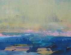 Abstract landscape l original painting by Jodi Fuchs