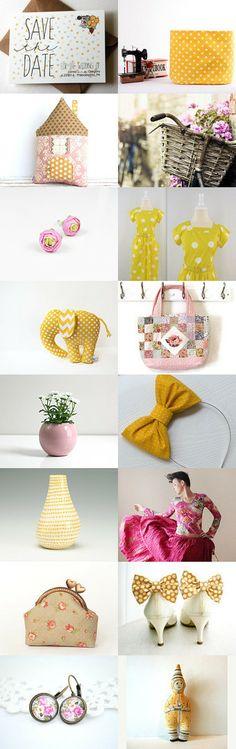Love, Create, Enjoy! by www.solandia.etsy.com   #ETSY #spring #joy #fashion #handmade #unique #gifts #home #dot #floral #romantic #happy