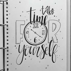 'Take time for Yourself'