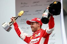 With his 4th podium in as many races, Seb moves into 2nd i the drivers championship.