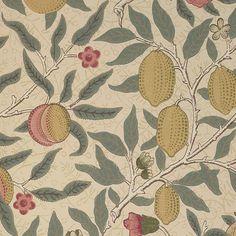 William Morris Fabrics and Wallpapers | fruit wallpaper classic william morris