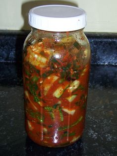 Cucumber Kimchi recipe- Made this and it's delicious!
