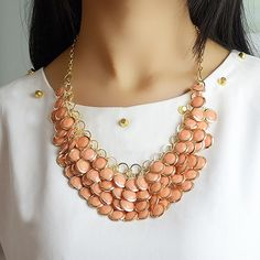 $5.99 | Cute Bead Necklace | Shop handmade & boutique deals up to 80% off on Jane.com!