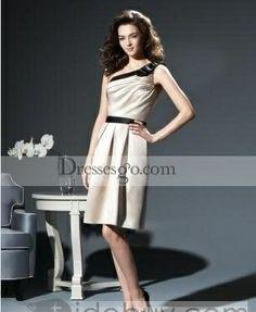 Charming A-Line/Princess One-Shoulder Knee-length Bridesmaid Dresses