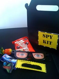 Fun activities for spy party