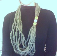 Wool Necklace 2