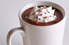 Peppermint hot chocolate is the perfect treat for a December morning. :Pie Shop #pie #shop #atlanta #buckhead #slice #dessert #yum #sweet #baking #kitchen #tradition #sweet #savory #lunch #pieshop #wedding #birthday #specialorder www.the-pie-shop.com