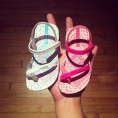 Baby Ipanema sandals, too adorable!