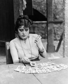 Even when she was cast as Juliet in Romeo & Juliet, the script was re-written for Juliet to come back as a ghost. - Theda Bara
