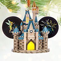 Cinderella Castle Light-Up Ear Hat Ornament - Walt Disney World