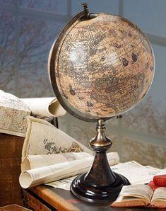Hondius 1627 Historical Classic Stand Globe