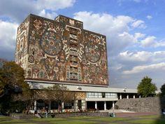 Universidad Nacional Autónoma de México/Mexico -- Biblioteca Central (1953)