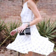 Every girl needs a skirt to twirl in [featuring Greylin's Mayra Check Midi…